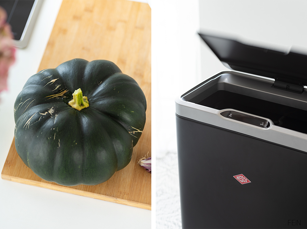 Mülleimer mit Sensor Wesco