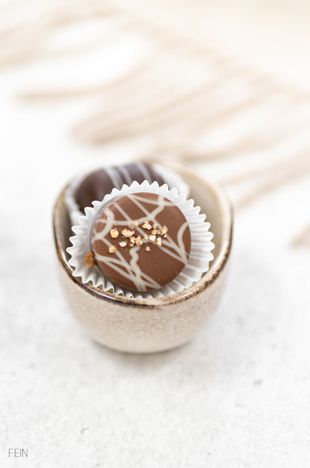 Schokolade Praline Handgemacht
