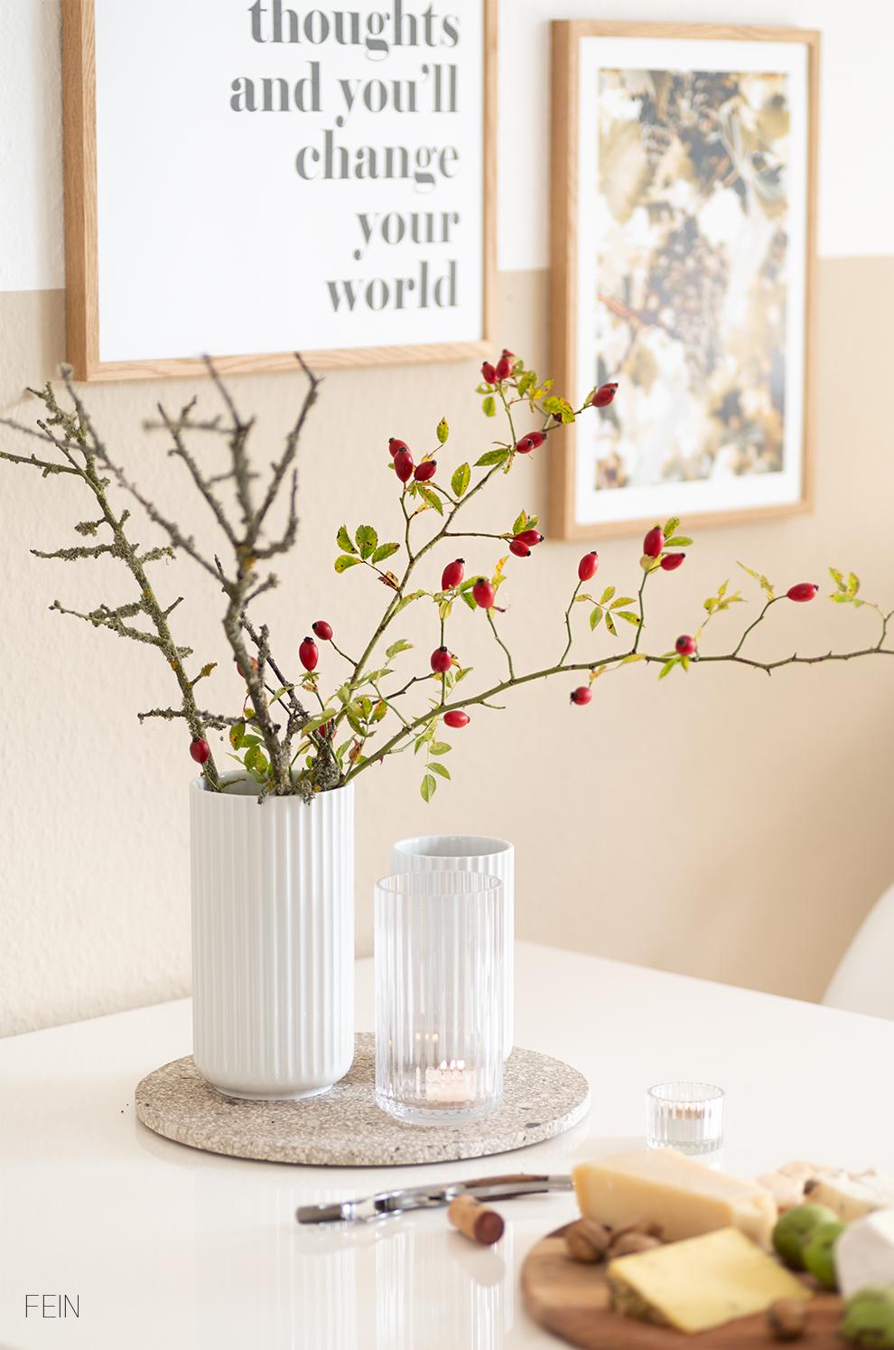 Walnussbrot Herbsttisch