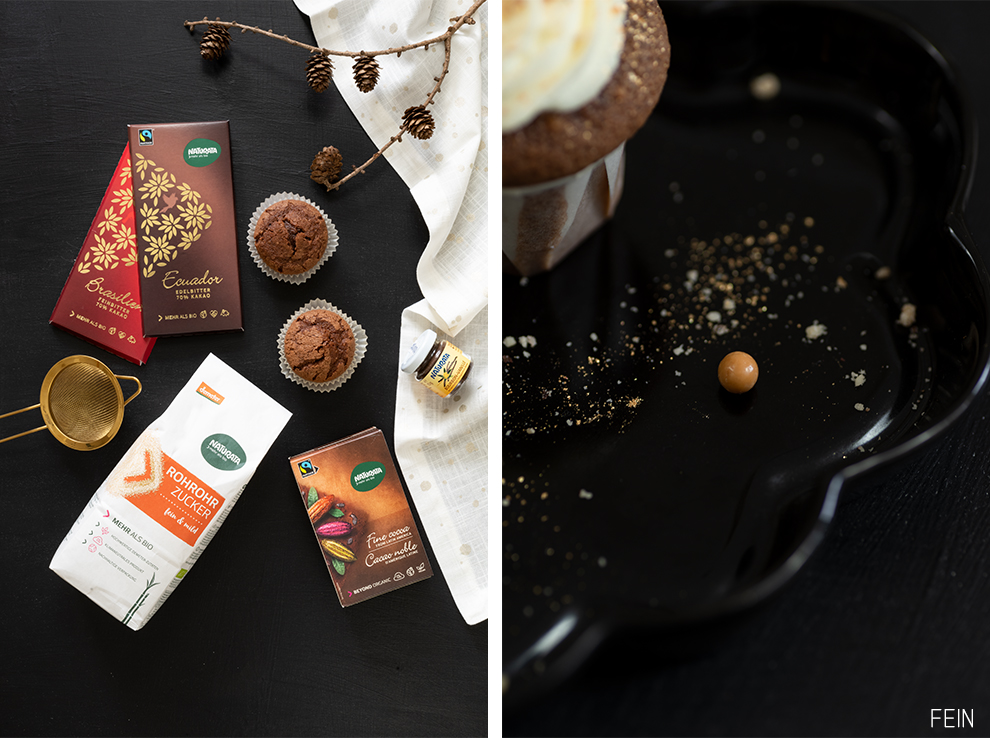 Schokoladenmuffins Bio Homemade