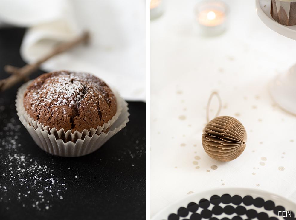 Schokoladenmuffins winter