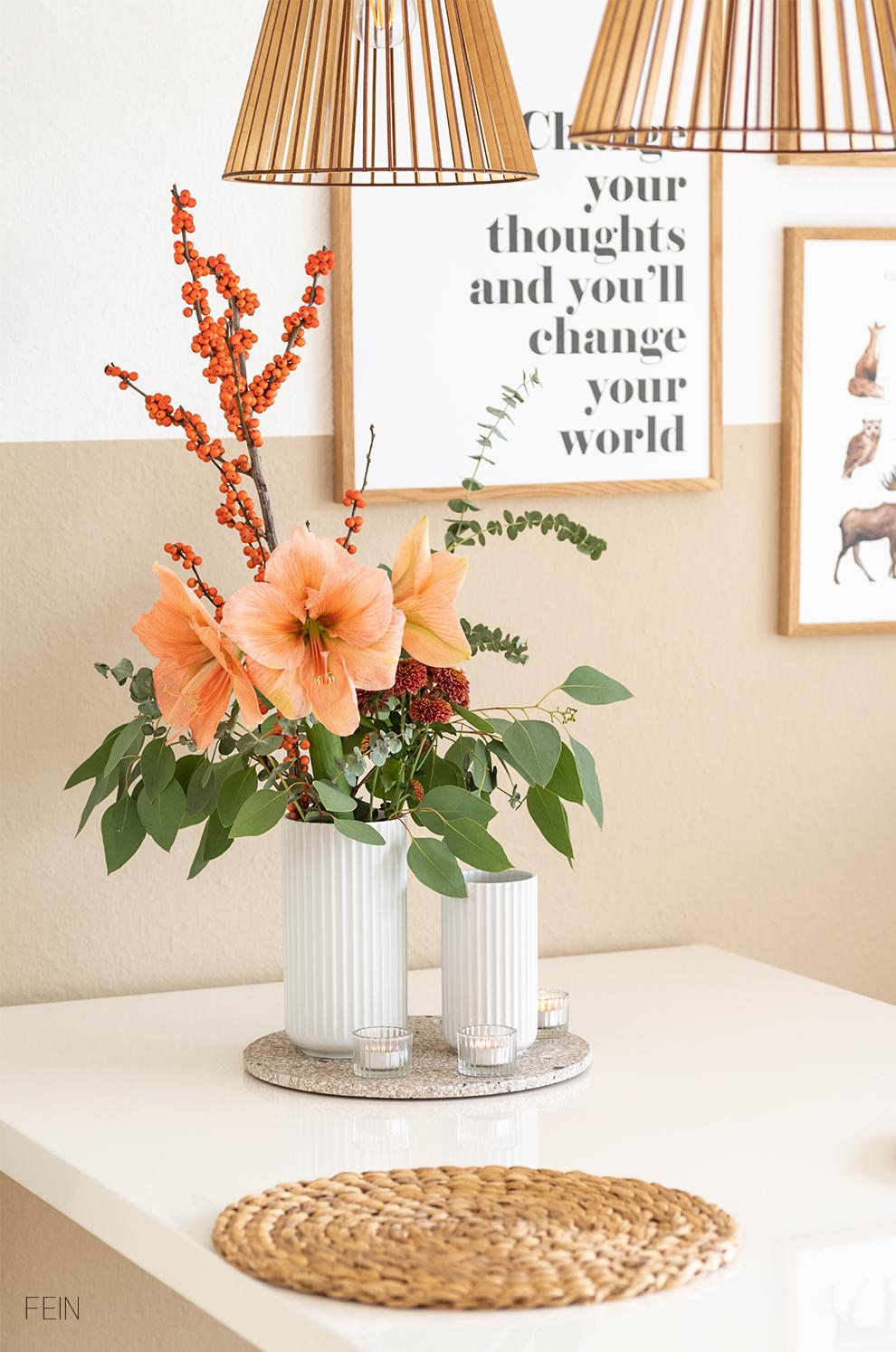Adventszeit Blumen Zuhause