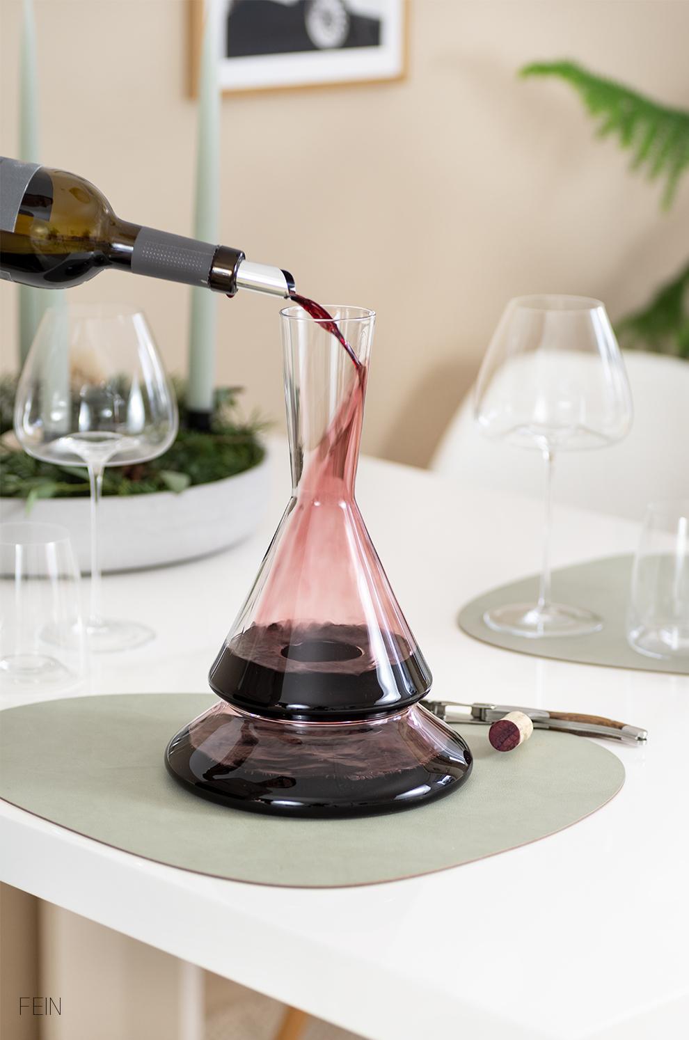 Getränke Wein Dekanter