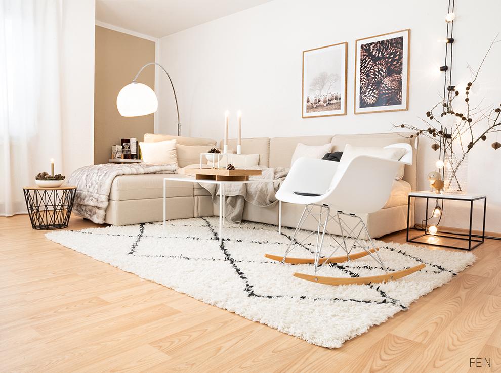Weihnachten Wohnzimmer Nordic
