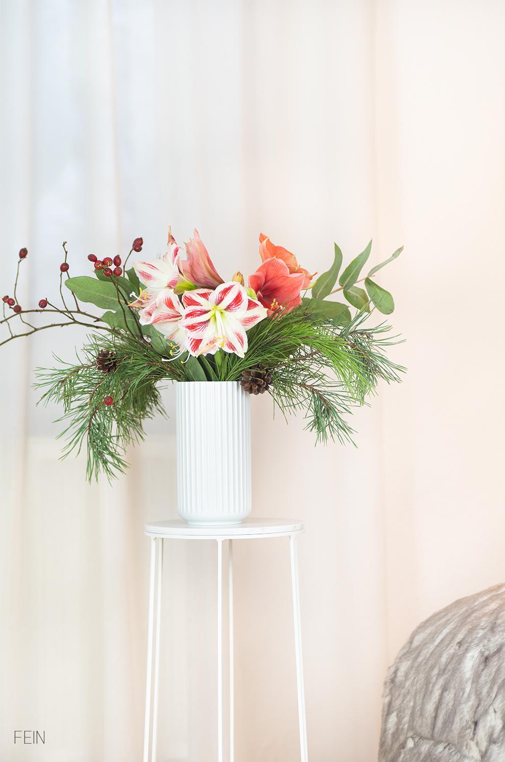 Weihnachtsgeschenke Blumen