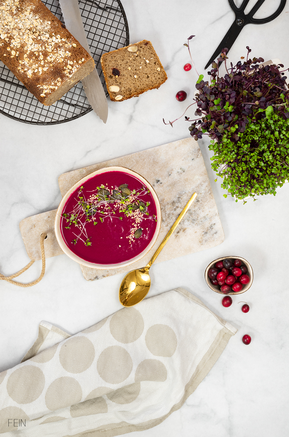 Winteressen Rote Beete Suppe