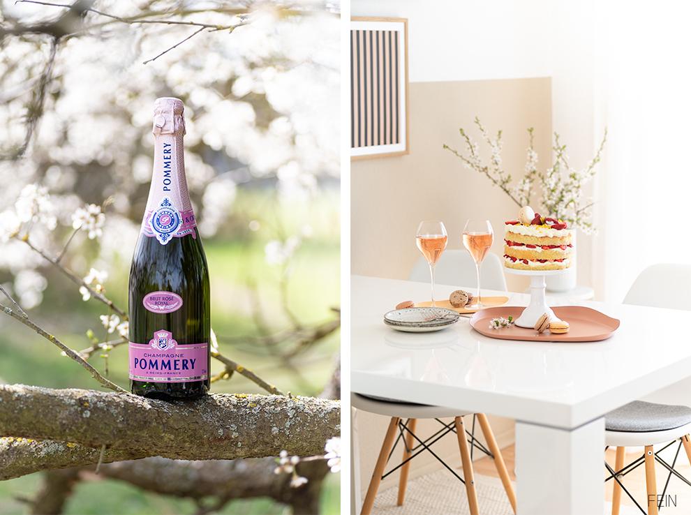 Champagner Pommery Frühling