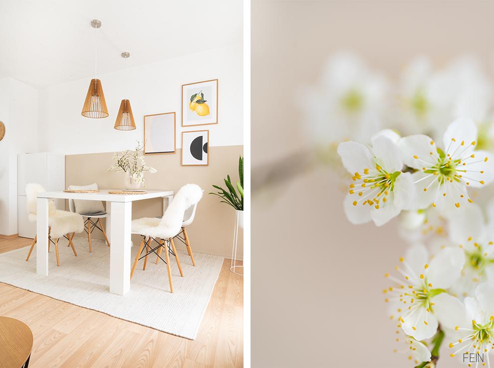 Einrichtungsideen Frühling Blumen