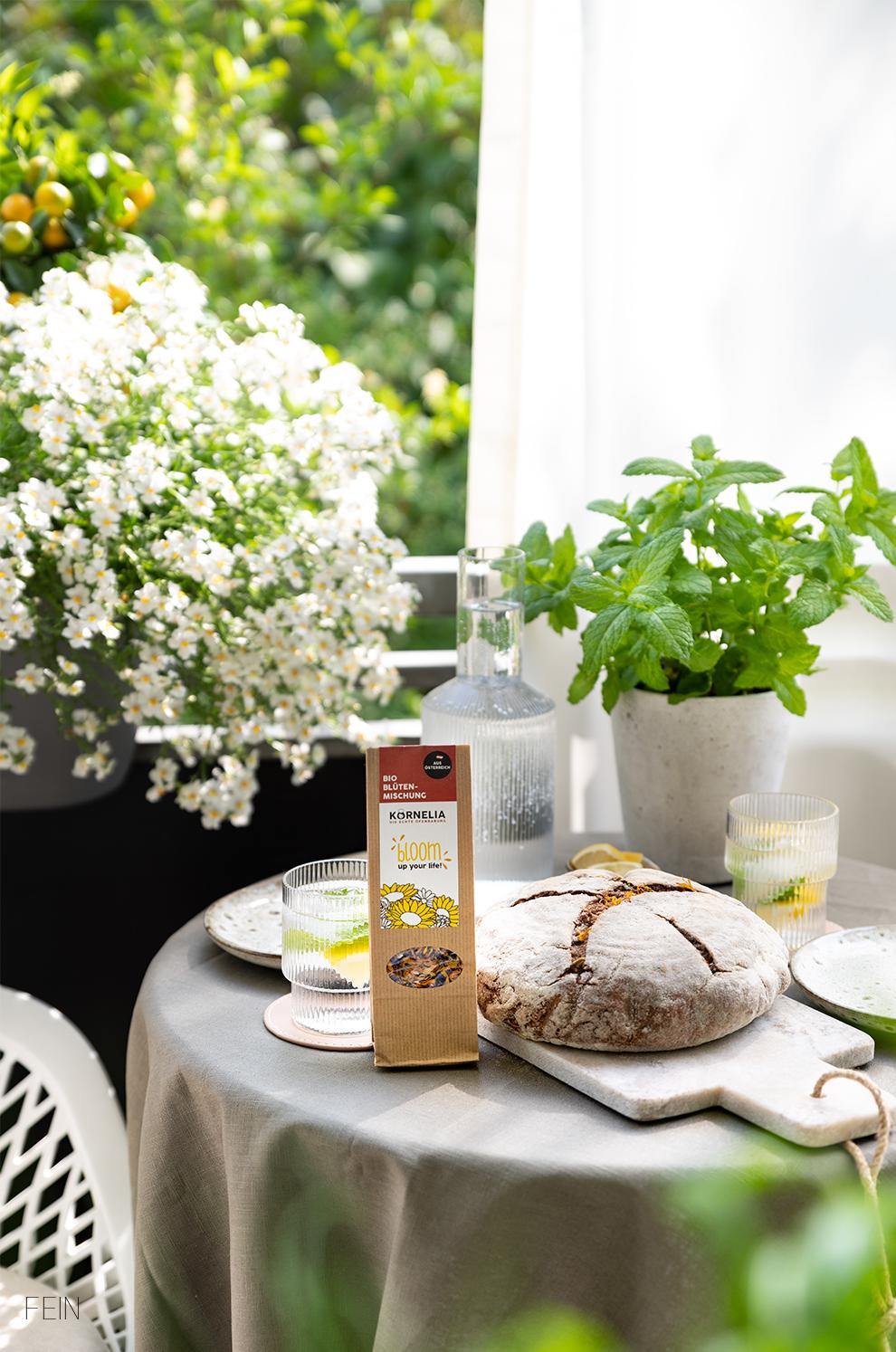 Brot und Blüten